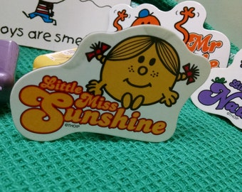 Little Miss Sunshine magnets