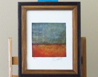 "Signed giclee print of ""Distant Sea"" by Dan Kitterman"