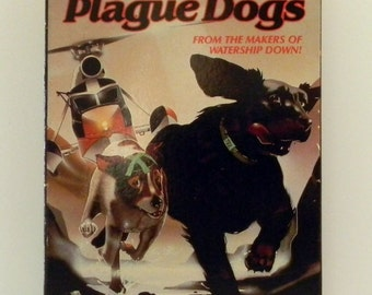 The Plague Dogs - VHS Rare Vintage Animated Movie