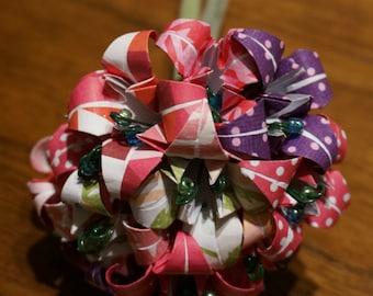 Small customizable origami bouquet - dozen