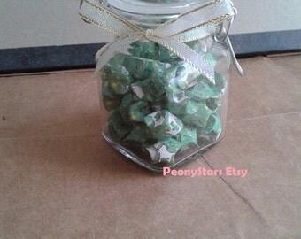 SALE! Lucky Capricorn Origami Stars Jar