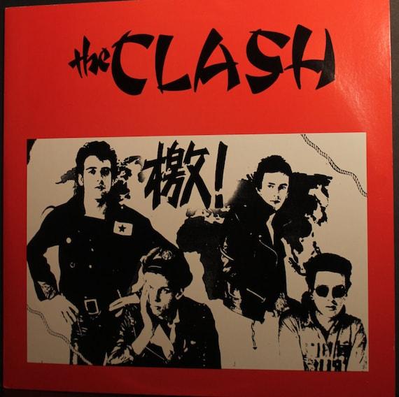 The Clash LP Rare 1984 US Off Label Release The Clash
