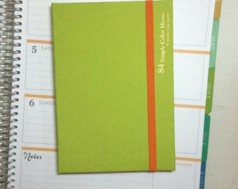 Lime Green Color Memo Notebook