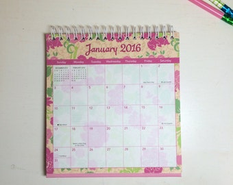 2016 Mini Desktop Monthly Calendar