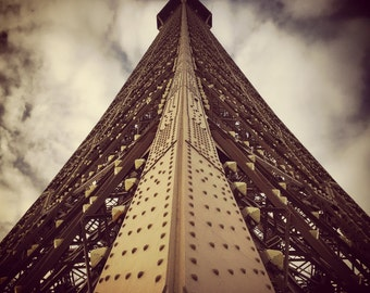 different view of the Eiffel Tower 1