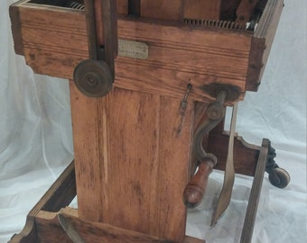 EXTREMELY RARE 19th Century Magic Studio Camera Stand by the James H Smith & Co. Chicago