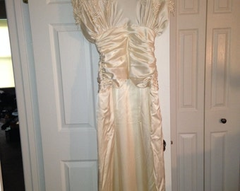 Priscilla of Boston Art Deco Wedding Dress