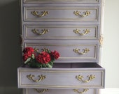 Reloved, Refurbished French Provincial Painted Dresser