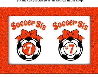 Soccer SVG file- Soccer Sister SVG- Bow Monogram Svg Cut file- Silhouette Dxf Soccer- Cricut Vinyl Soccer Shirt Svg Design- Iron on Download