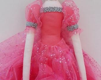 Handmade Tilda doll, Keepsake doll, home dec, birthday, Tilda, cloth doll, Southern belle doll, 22 inch doll, Christmas gift, made in USA