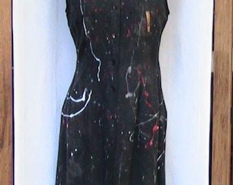 CUSTOM HAND PAINTED Dress