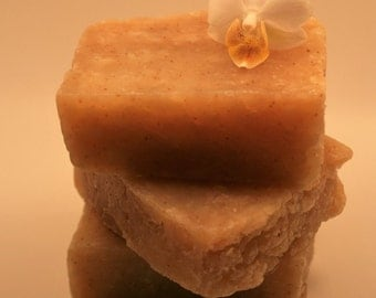 ORANGE & CLOVE SOAP/ 100% natural handmade product