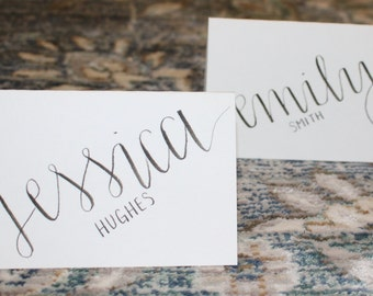 Place Cards- Custom- Handmade