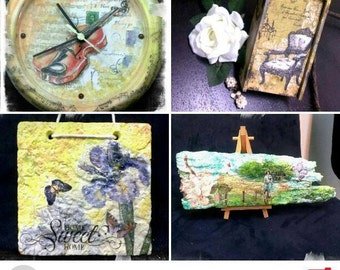 Decoupage Art Crafts