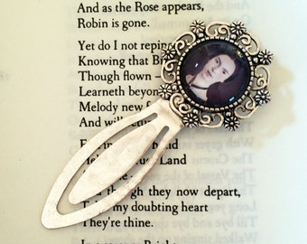 Emily Dickinson Bookmark, Emily Dickinson Gift, Poetry Bookmark, Feminist Bookmark, Gift For Introvert, Book Lover, Bibliophile, Poetry Gift