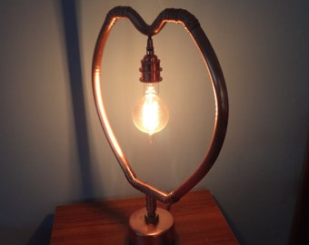 Sultan Heart Copper Lamp
