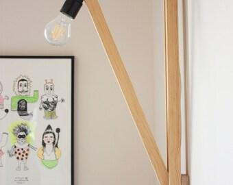 OLGA - Lamp wooden