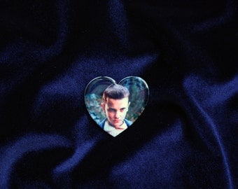 Eleven Brooch, Stranger Things Brooch, Stranger Things pin