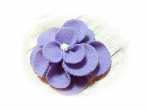 Dog Collar Flower, Dog Harness Flower, Collar Flower Attachment,  Flower Ad-On, Fleece Flower