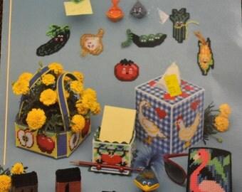 Craft Book Plastic Canvas Bazaar American School of  Needlework
