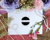 Self Inking Return Address Stamp, Script font Name Stamp, custom rubber stamps SELF INKING
