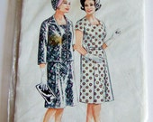 Vintage Dress and Jacket Pattern - 1960s Style Pattern, Bust 40""