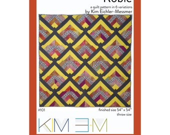 Robie - PDF Modern Quilt Pattern