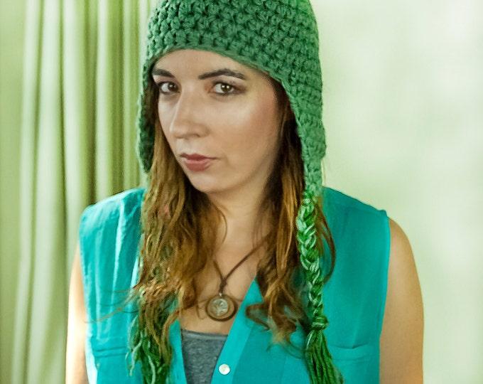 Sage Green EarFlap Hat