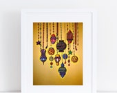 Moroccan Lamps - 8x10 Print