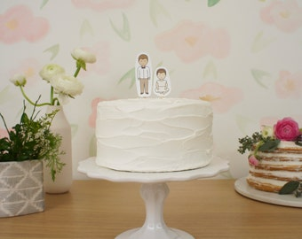 Custom Child Wedding Cake Topper