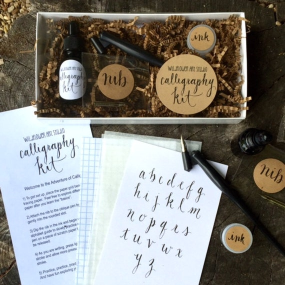 Calligraphy starter kit beginner lettering set
