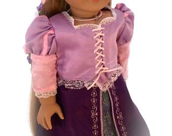 American Girl Sized Tangled  Rapunzel Costume