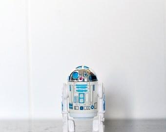 Vintage Star Wars R2D2 Action Figure, 1977, Artoo, R2, Original R2-D2, Astro Droid Robot, Star Wars Robot