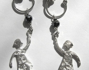 Sterling Silver Girl Earrings