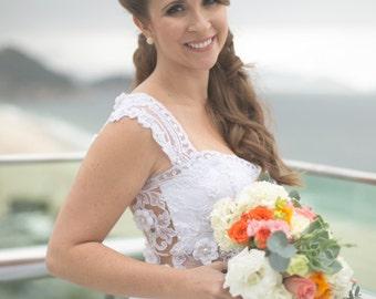 rustic flower crown, bridal crown, Flower crown, rustic head wreath, wedding headband, bridal hair, wedding crown