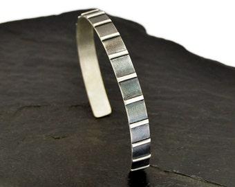 Silver Mens Bracelet, Mens Silver Bracelet, Mens Cuff Bracelet, Sterling Silver Bracelet, Silver Cuff, Silver Bracelet, Silver Bangle