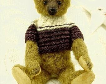 Christian, OOAK  Mohair Artist Teddy Bear  from Aerlinn Bears