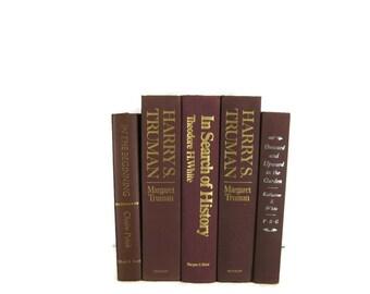 Brown Vintage   Books, Vintage Wedding Decor, Vintage  Photography Prop