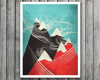 Windy Mountain Tops