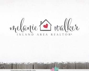 real estate logo logo design house logo home logo realty Logo logos for House Photography logos Realty Logo realtor logo premade logo