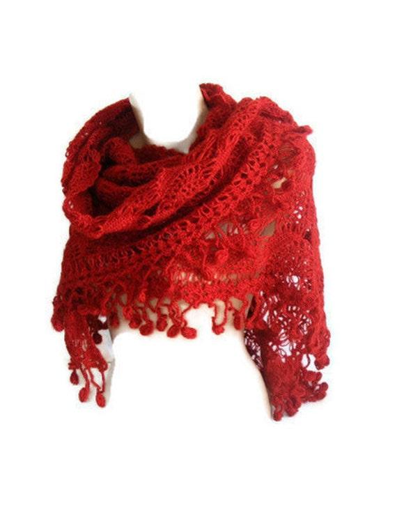 Crochet Shawl / Wedding Shawl / Bridal Shawl / Bridal Shrug / Winter Wedding / Bridal Bolero / Bridal Cover Up / Winter Accessories