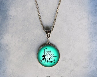 Little Mermaid Part of Your World Necklace