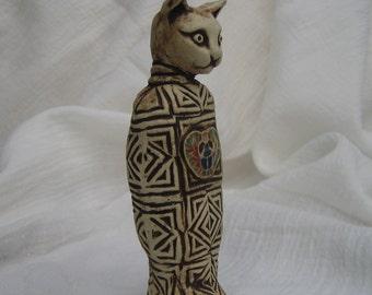 Scarab Amulet Mummy Cat