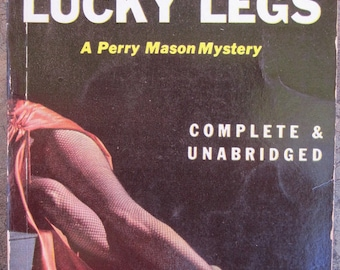 The Case of the Lucky Legs. Vintage paperback mystery novel by Erle Stanley Gardner.