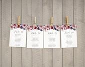 Wedding Seating Chart {Vintage Floral} by Vintage Sweet