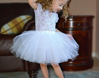 Custom Tutu, Completely Sewn, 10-inch Long  in Many Colors and Sizes