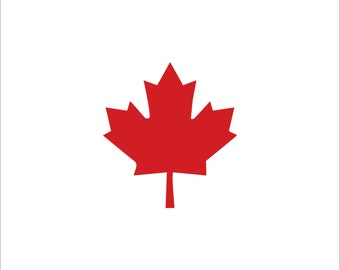 Canadian Maple Leaf Decal, Maple Leaf Decals, Canada, Maple Leaf, Canadian Pride, Canadian