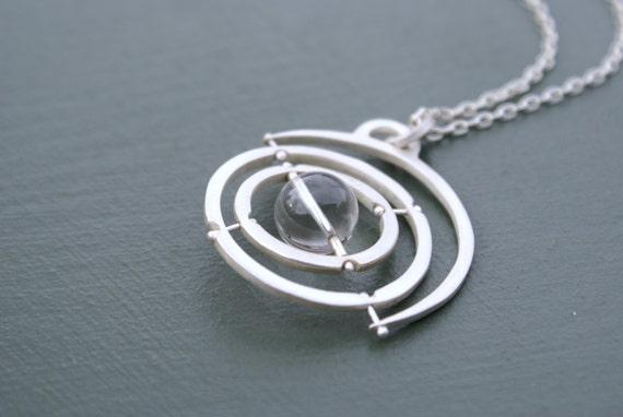 Gyroscope 4.0 - sterling silver