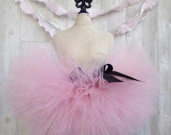 Blush Pink Tutu, Extra Full Tutu, Super Fluffy Tutu, Sewn Tutu, Newborn Tutu, Custom Tutu, Toddler Tutu, 1st Birthday Tutu, Princess Tutu