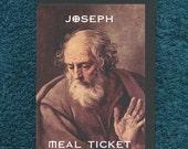Offensive Atheist Card Joseph Meal Ticket Mature